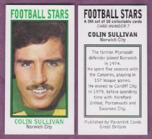 Norwich City Colin Sullivan